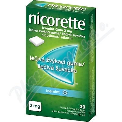 Nicorette Icemint Gum 2mg gum.mnd.30