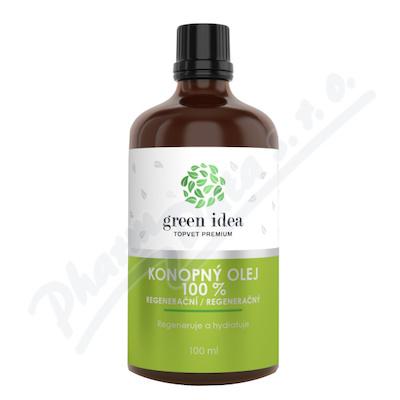 TOPVET Regenerační konopný olej 100ml
