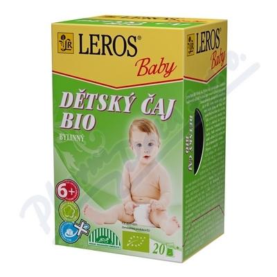LEROS BABY BIO Dětský čaj bylinný n.s.20x2g