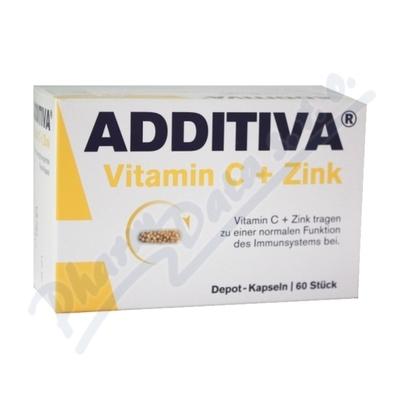 Additiva vitamin C + zinek tbl.60