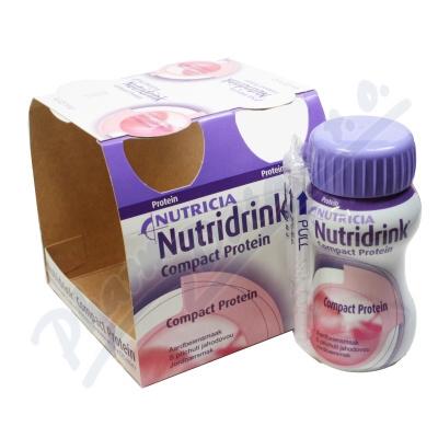 Nutridrink Compact Protein př.jah. por.sol.4x125ml