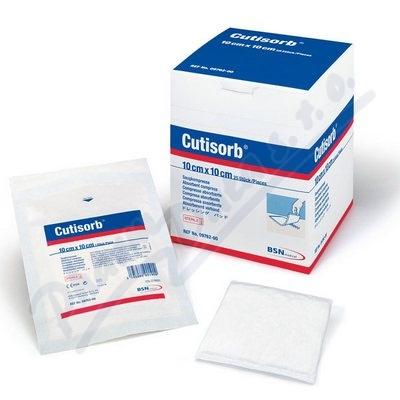 Cutisorb sterilní absorpční krytí 10cmx10cm 25ks