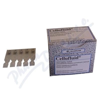 Cellufluid oph.gtt.sol.30x0.4ml/2mg