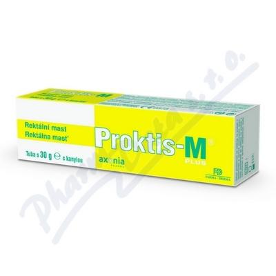 PROKTIS-M PLUS rektální mast 30g