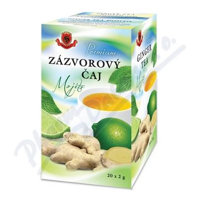 HERBEX Zázvorový čaj Mojito n.s.20x2g