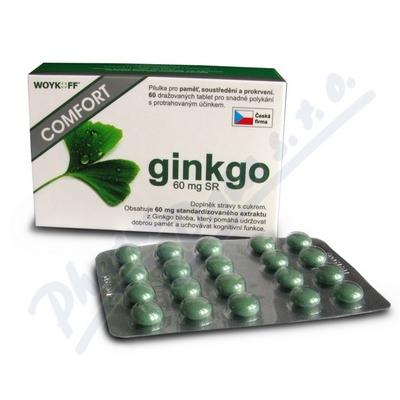 ginkgo COMFORT 60mg SR tbl. obd. 60