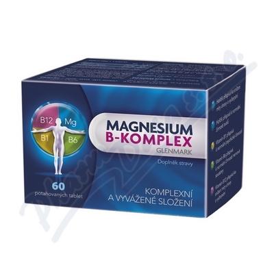 Magnesium B-komplex Glenmark tbl.60