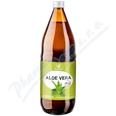 Allnature Aloe vera 100% šťáva BIO 1000ml