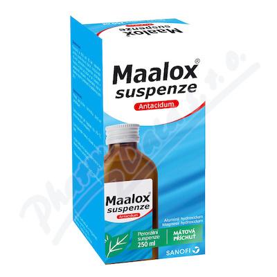 Maalox suspenze 35mg/ml+40mg/ml por.sus.1x250ml II