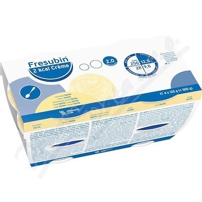 Fresubin 2kcal creme vanilka por.sol.4x125g