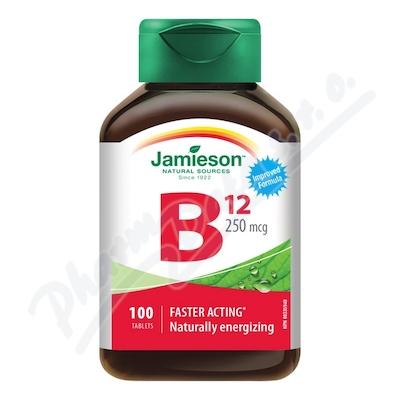JAMIESON Vitamín B12 metylkobalamín 250mcg tbl.100