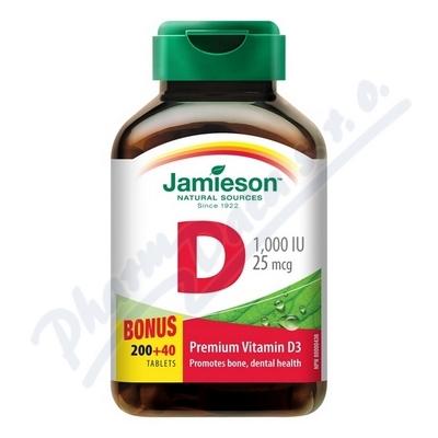 JAMIESON Vitamín D3 1000 IU tbl.240