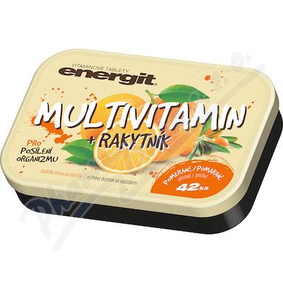 Energit Multivitamin+rakytník tbl.42