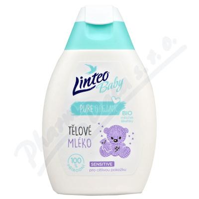 Dětské těl.mléko LINTEO BABY s Bio měsíč.lék.250ml