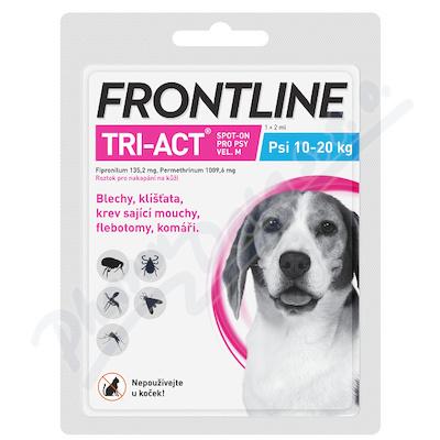 Frontline Tri-Act psi 10-20kg spot-on pipeta 1x2ml