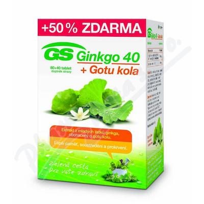 GS Ginkgo 40+Gotu kola tbl.80+40