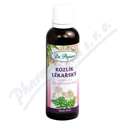 Dr.Popov Kapky bylinné Kozlík lékařský 50ml
