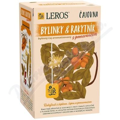 LEROS Čajovna Bylinky&Rakytník s pomerančem 20x2g