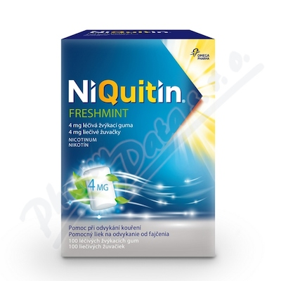 NiQuitin Freshmint 4 mg gum.mnd.100 I