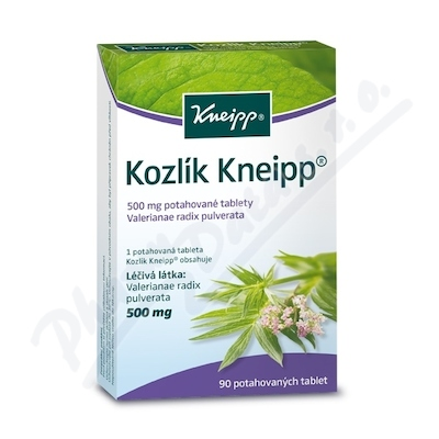 KNEIPP Kozlík tbl.flm.90x500mg