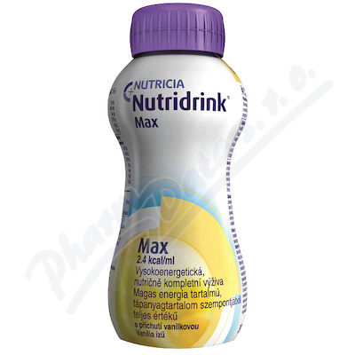 Nutridrink Max s př. vanilkovou por.sol.4x300ml