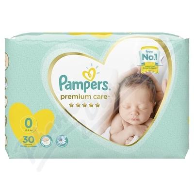 Pampers Premium Care Pack S0 Newborn 30ks