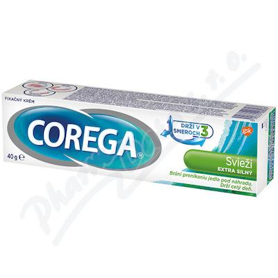 Corega Svěží extra silný 40g