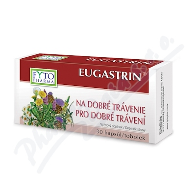 EUGASTRIN tob.30 pro dobré trávení Fytopharma
