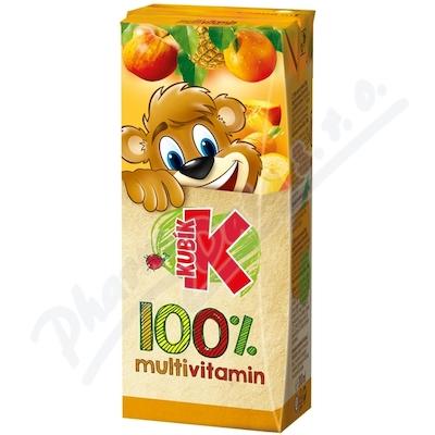KUBÍK 100% multivitamin 0.2l