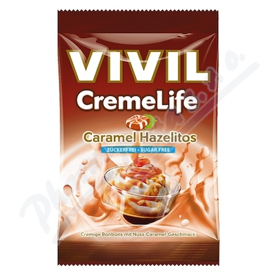 Vivil Creme life karamel+lískový oříšek 110g