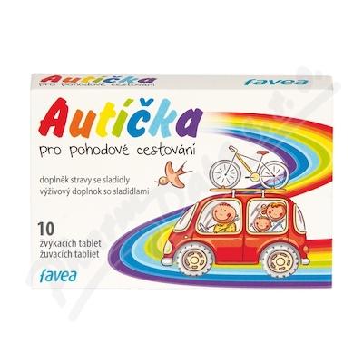 Favea Autíčka pro pohodové cestování žvýk.tbl.10