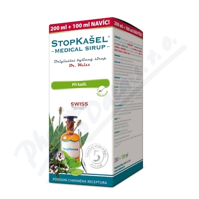 Dr.Weiss STOPKAŠEL Medical sirup 300 ml