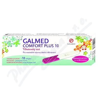 Test těhotenský Comfort Plus 10 tyčinka 1ks Galmed
