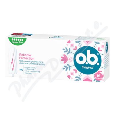 o.b. tampony Original Super Plus 16ks