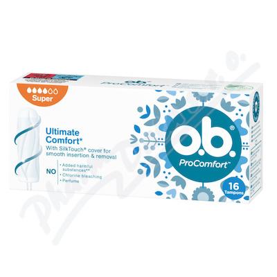 o.b. tampony ProComfort Super 16ks