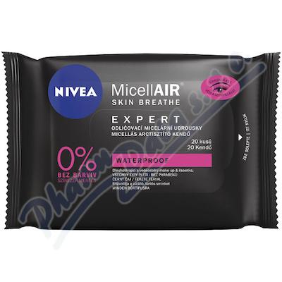 NIVEA MicellAir Expert odlič.ubrousky 20ks 88547
