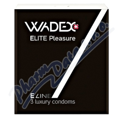 Kondom WADEX Elite Pleasure (prezervativ) 3ks