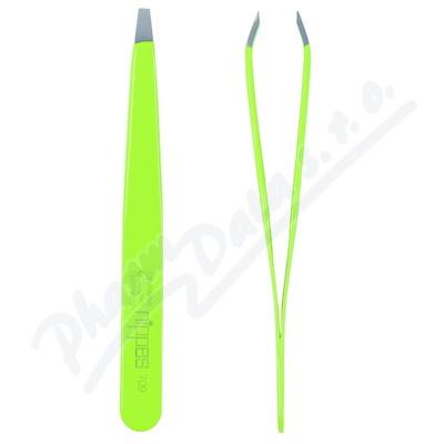 Nippes pinzeta lomená lakovaná zelená nerez 9.5cm