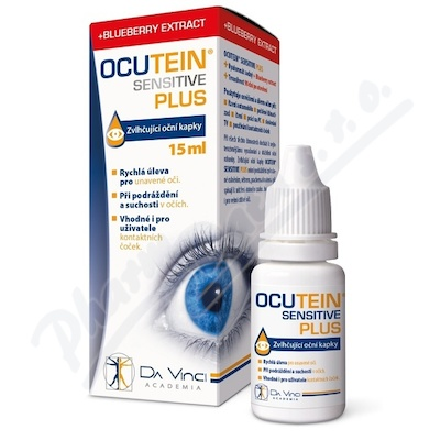 OCUTEIN SENSITIVE PLUS oční kapky 15ml