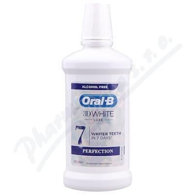 Oral-B Ústní voda 3D White Luxe 500ml