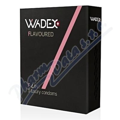Kondom WADEX Flavoured (prezervativ) 3ks