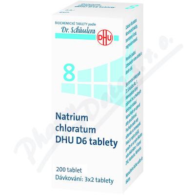 Natrium chloratum DHU D5-D30 tbl.nob.200