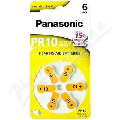 Panasonic PR10(PR230L) baterie do naslouchadel 6ks