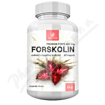Allnature Forskolin Premium Forte 400mg cps.60