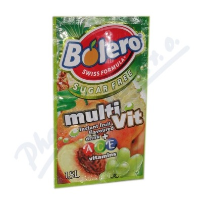 BOLERO Multivitamín inst.nápoj bez cukru 8g