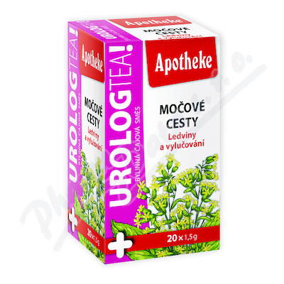 Apotheke Urolog tea močové cesty čaj 20x1.5g