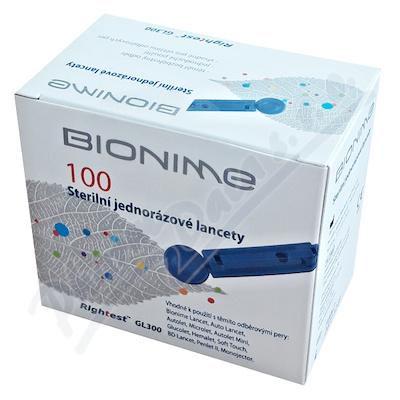 Rightest sterilní jednorázové lancety 100ks