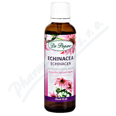 Dr.Popov Kapky bylinné Echinacea 50ml