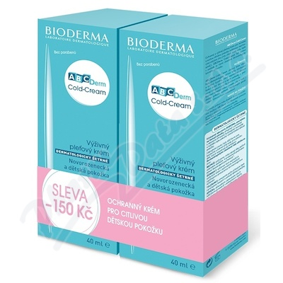 BIODERMA ABCDerm Cold-Cream 40ml 1+1