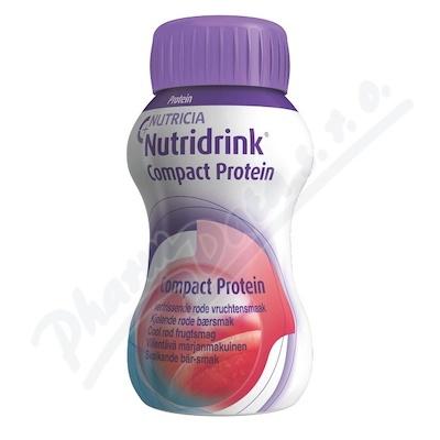 Nutridrink Compact Protein př.chlad.čer.ov.4x125ml